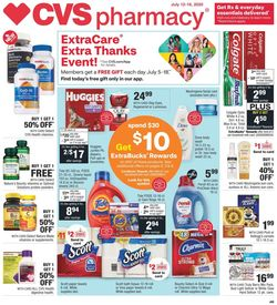 Catalogue CVS Pharmacy from 07/12/2020