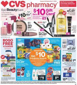 Catalogue CVS Pharmacy from 08/30/2020