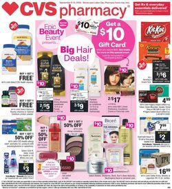 Catalogue CVS Pharmacy from 09/06/2020
