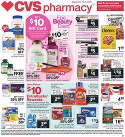 Catalogue CVS Pharmacy from 09/13/2020