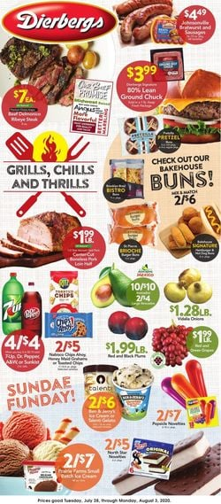 Catalogue Dierbergs from 07/28/2020
