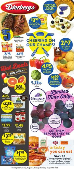 Catalogue Dierbergs from 08/04/2020