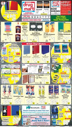 Current weekly ad Discount Drug Mart
