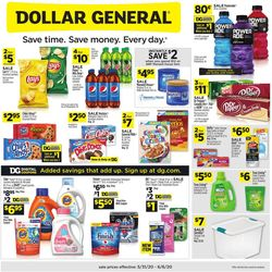 Catalogue Dollar General from 05/31/2020