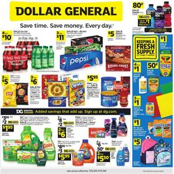 Catalogue Dollar General from 07/05/2020
