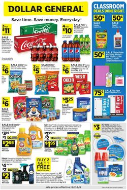 Catalogue Dollar General from 08/02/2020