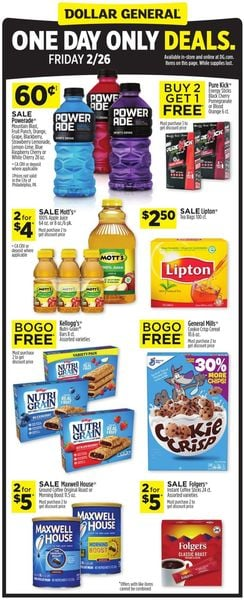 Current weekly ad Dollar General