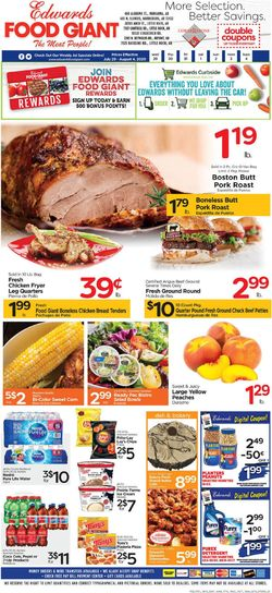 Catalogue Edwards Food Giant from 07/29/2020