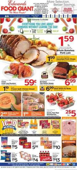 Current weekly ad Edwards Food Giant