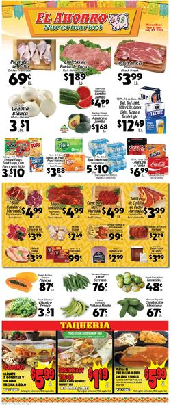 Current weekly ad El Ahorro Supermarket
