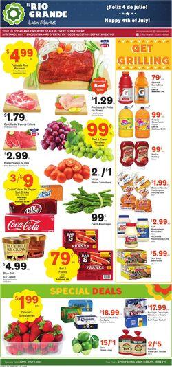 Catalogue El Rio Grande from 07/01/2020