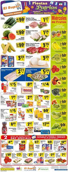 Catalogue El Super from 09/08/2021