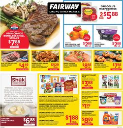 Current weekly ad Fairway Market
