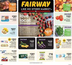 Current weekly ad Fairway Market