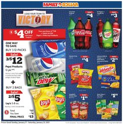 Current weekly ad Family Dollar