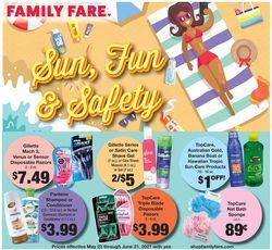 Catalogue Family Fare from 05/23/2021