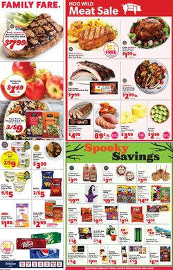 Current weekly ad Family Fare