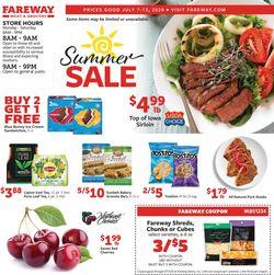 Catalogue Fareway from 07/07/2020