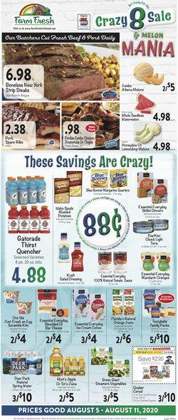 Current weekly ad Farm Fresh