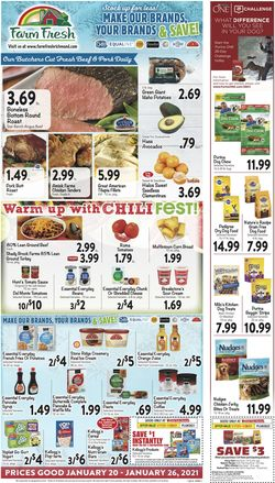 Current weekly ad Farm Fresh