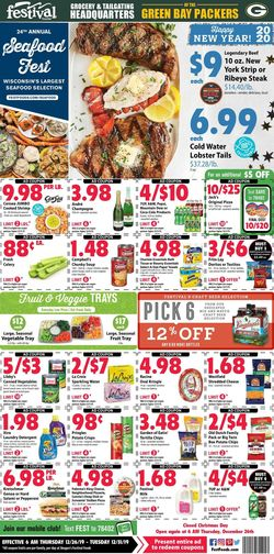 Festival Foods - New Year's Ad 2019/2020