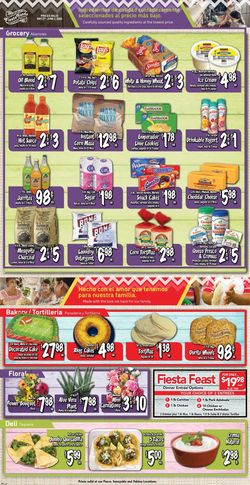 Catalogue Fiesta Foods SuperMarkets from 05/27/2020
