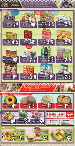 Catalogue Fiesta Foods SuperMarkets from 06/17/2020
