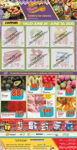 Catalogue Fiesta Foods SuperMarkets from 06/24/2020