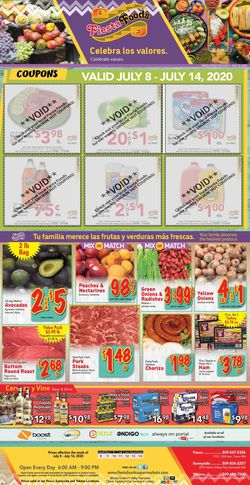 Catalogue Fiesta Foods SuperMarkets from 07/08/2020