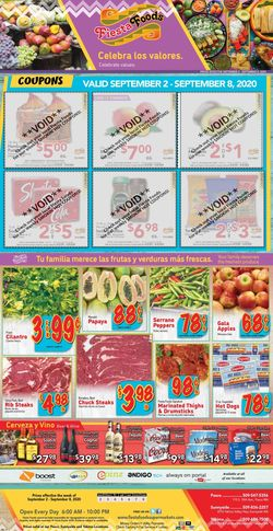Catalogue Fiesta Foods SuperMarkets from 09/02/2020