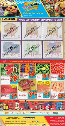 Catalogue Fiesta Foods SuperMarkets from 09/09/2020