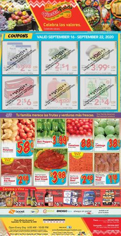 Current weekly ad Fiesta Foods SuperMarkets