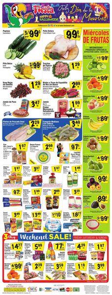 Current weekly ad Fiesta Mart