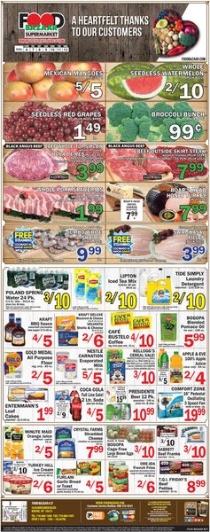 Current weekly ad Food Bazaar