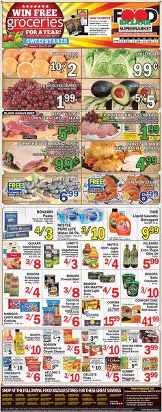Current weekly ad Food Bazaar