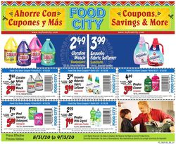 Catalogue Food City from 08/31/2020