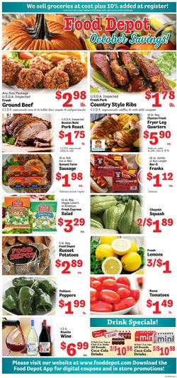 Current weekly ad Food Depot