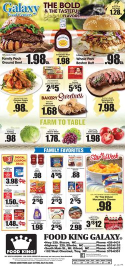 Catalogue Food King from 07/22/2020