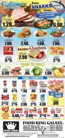 Current weekly ad Food King