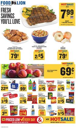 Catalogue Food Lion from 05/27/2020
