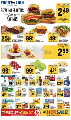 Catalogue Food Lion from 04/21/2021