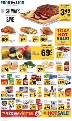 Catalogue Food Lion from 04/28/2021