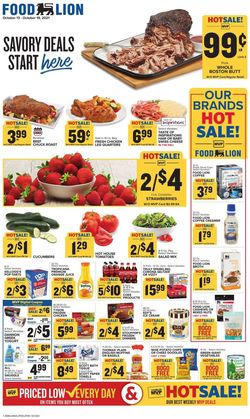 Current weekly ad Food Lion