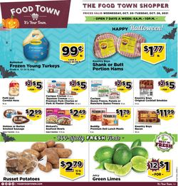 Current weekly ad Food Town