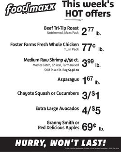 Current weekly ad FoodMaxx