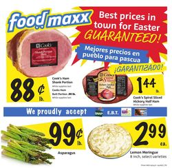 Catalogue FoodMaxx - Easter 2021 Ad from 03/24/2021