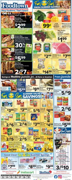 Current weekly ad Foodtown