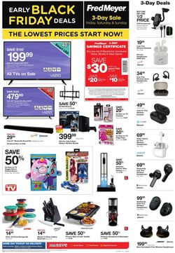 Catalogue Fred Meyer - Black Friday 2019 from 11/01/2019