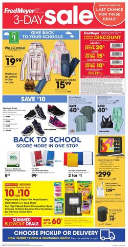 Catalogue Fred Meyer from 08/09/2020