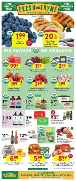 Catalogue Fresh Thyme from 06/24/2020